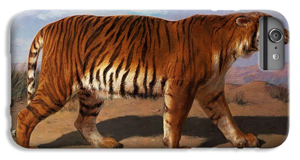 Stalking Tiger IPhone 6s Plus Case by Rosa Bonheur