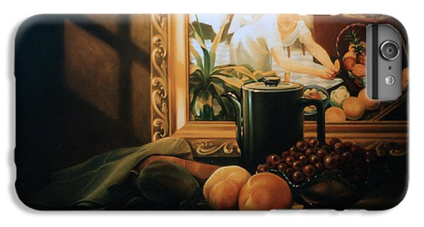 Grapefruit iPhone 6s Plus Case - Still Life With Hopper by Patrick Anthony Pierson