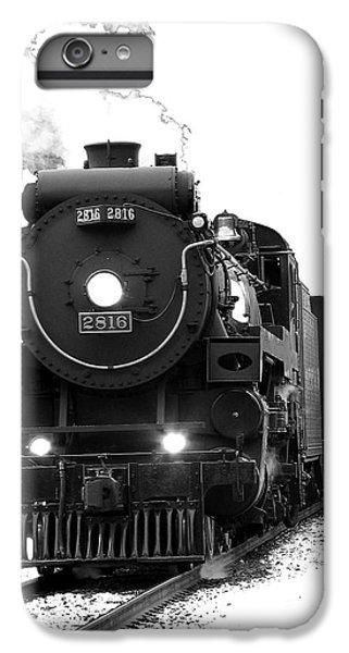 Train iPhone 6s Plus Case - The Empress by Vivian Christopher