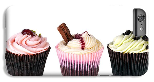 Fairy Cake iPhone 6s Plus Case - Three Cupcakes by Jane Rix