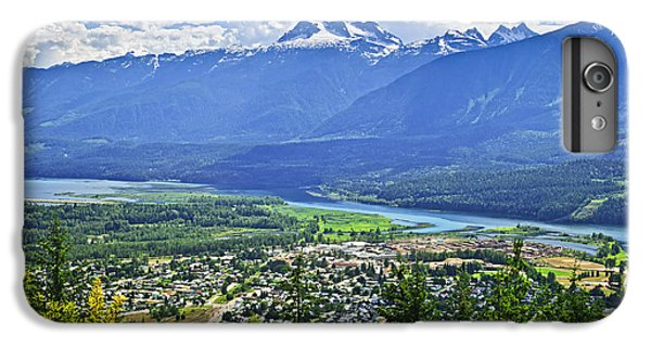 Town iPhone 6s Plus Case - View Of Revelstoke In British Columbia by Elena Elisseeva
