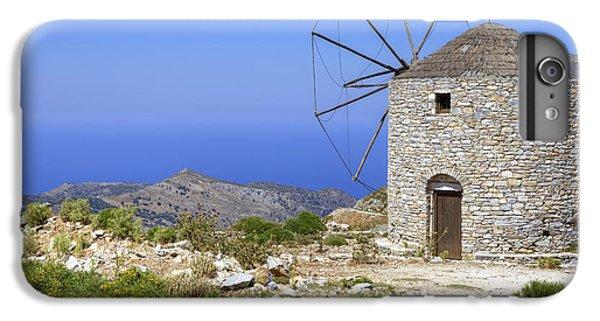 Greece iPhone 6s Plus Case - wind mill Naxos by Joana Kruse