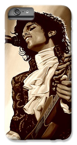 Rhythm And Blues iPhone 6s Plus Case -  Prince The Artist by Paul Meijering