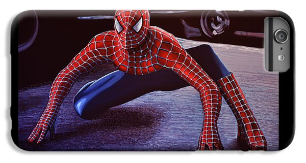 Spider iPhone 6s Plus Case -  Spiderman 2  by Paul Meijering