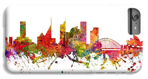 Sydney Australia Cityscape 08 IPhone 6s Plus Case by Aged Pixel