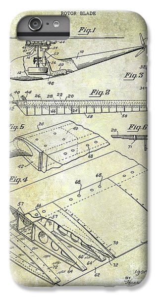 1949 Helicopter Patent IPhone 6s Plus Case by Jon Neidert