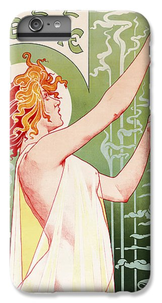 Fairy iPhone 6s Plus Case - Absinthe Robette by Henri Privat-Livemont