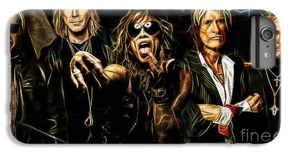 Aerosmith Collection IPhone 6s Plus Case by Marvin Blaine