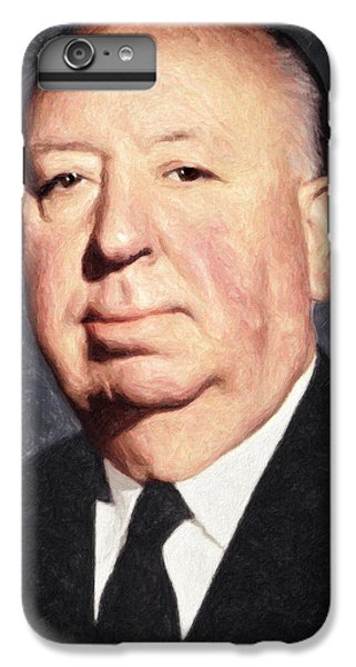 Alfred Hitchcock IPhone 6s Plus Case by Taylan Apukovska