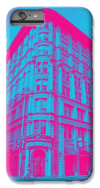 Moscow Skyline iPhone 6s Plus Case - Archtectural Building by Celestial Images