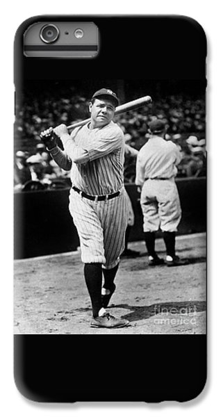 Babe Ruth IPhone 6s Plus Case by American School