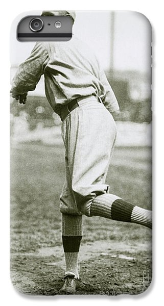 Babe Ruth Pitching IPhone 6s Plus Case