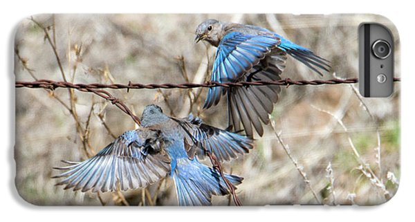 Bluebird Battle IPhone 6s Plus Case by Mike Dawson