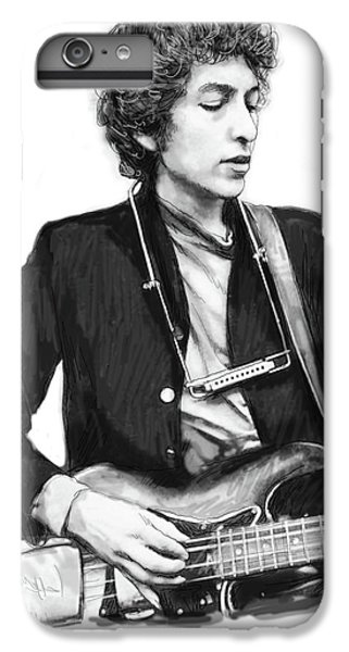 Bob Dylan Drawing Art Poster IPhone 6s Plus Case