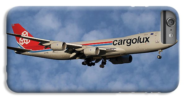 Jet iPhone 6s Plus Case - Cargolux Boeing 747-8r7 1 by Smart Aviation