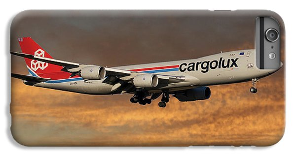 Jet iPhone 6s Plus Case - Cargolux Boeing 747-8r7 3 by Smart Aviation