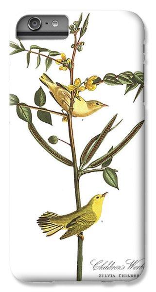 Children's Warbler IPhone 6s Plus Case by John James Audubon