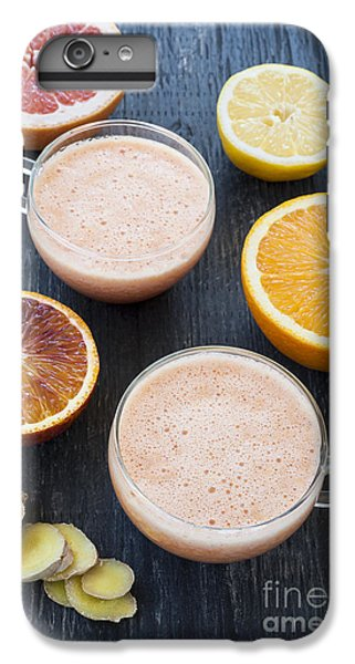 Grapefruit iPhone 6s Plus Case - Citrus Smoothies by Elena Elisseeva