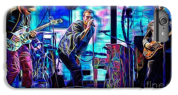 Coldplay iPhone 6s Plus Case - Coldplay Collection Chris Martin by Marvin Blaine