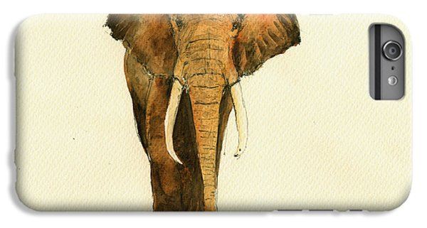 Elephant Watercolor IPhone 6s Plus Case by Juan  Bosco