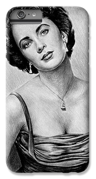 Liz Taylor iPhone 6s Plus Case - Elizabeth Taylor by Andrew Read