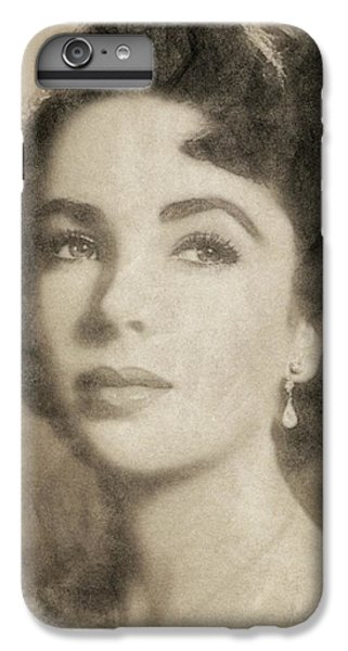 Elizabeth Taylor Hollywood Actress IPhone 6s Plus Case by John Springfield