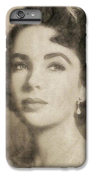 Elizabeth Taylor, Vintage Hollywood Legend By John Springfield IPhone 6s Plus Case