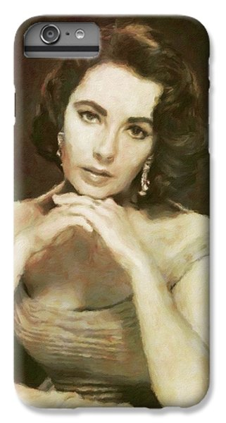 Elizabeth Taylor, Vintage Hollywood Legend By Mary Bassett IPhone 6s Plus Case