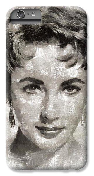Elizabeth Taylor, Vintage Hollywood Legend IPhone 6s Plus Case by Mary Bassett