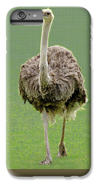 Emu IPhone 6s Plus Case by Ellen Henneke