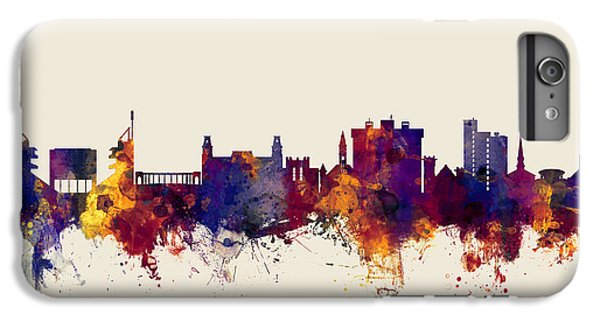 Fayetteville Arkansas Skyline IPhone 6s Plus Case by Michael Tompsett