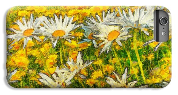 Field Of Daisies IPhone 6s Plus Case by Claire Bull