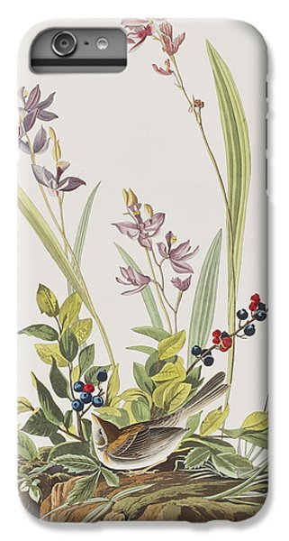 Field Sparrow IPhone 6s Plus Case by John James Audubon