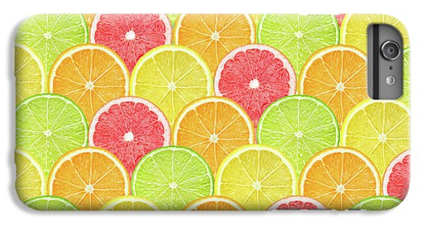 Grapefruit iPhone 6s Plus Case - Fresh Fruit  by Mark Ashkenazi