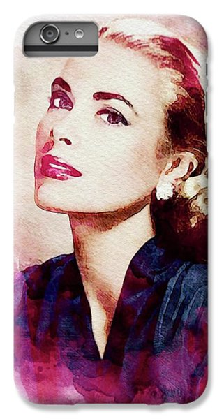 Grace Kelly iPhone 6s Plus Case - Grace Kelly, Vintage Actress by John Springfield
