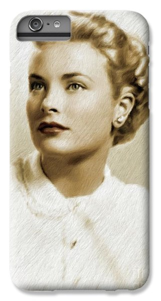 Grace Kelly iPhone 6s Plus Case - Grace Kelly, Vintage Actress by Mary Bassett