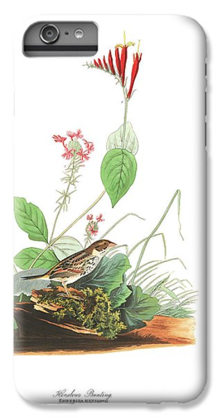 Henslow's Bunting  IPhone 6s Plus Case by John James Audubon