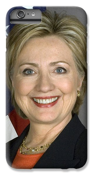 Hillary Clinton iPhone 6s Plus Case - Hillary Clinton by War Is Hell Store