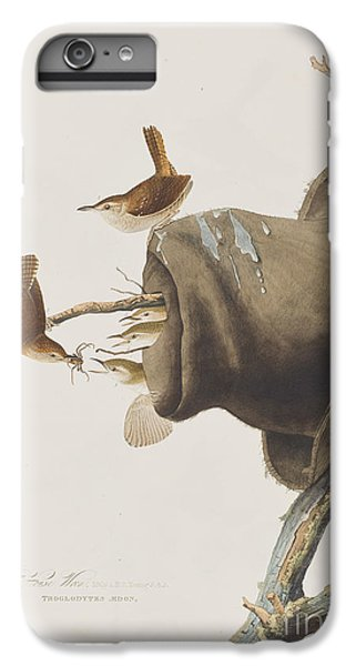 House Wren IPhone 6s Plus Case by John James Audubon