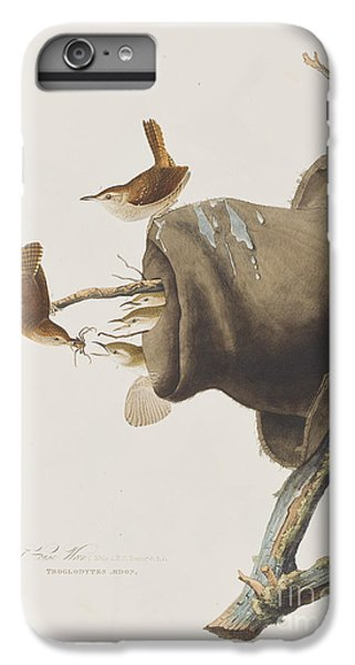 Wren iPhone 6s Plus Case - House Wren by John James Audubon