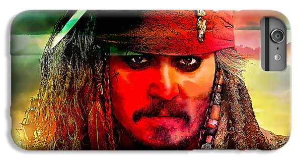 Johnny Depp Painting IPhone 6s Plus Case