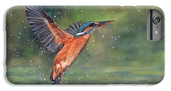 Kingfisher iPhone 6s Plus Case - Kingfisher by David Stribbling
