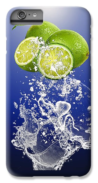 Lime Splash IPhone 6s Plus Case