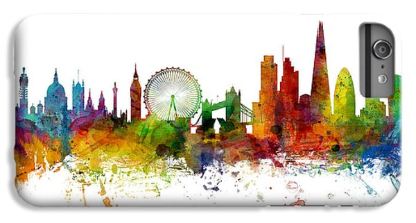 London England Skyline Panoramic IPhone 6s Plus Case by Michael Tompsett