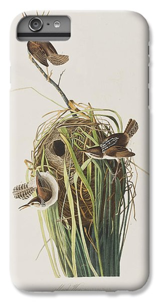 Marsh Wren  IPhone 6s Plus Case by John James Audubon