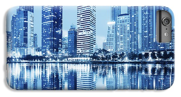 Night Scenes Of City IPhone 6s Plus Case by Setsiri Silapasuwanchai