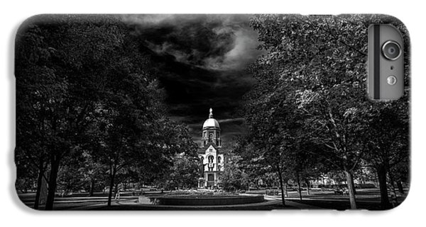 Notre Dame University Black White IPhone 6s Plus Case