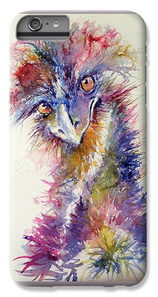 Ostrich iPhone 6s Plus Case - Ostrich by Kovacs Anna Brigitta