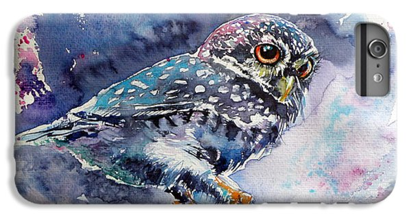Owl At Night IPhone 6s Plus Case by Kovacs Anna Brigitta