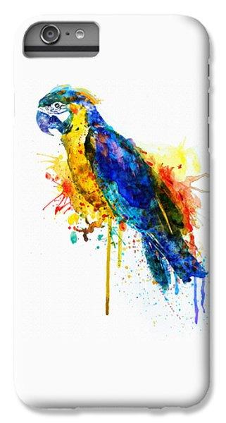 Parrot Watercolor  IPhone 6s Plus Case by Marian Voicu